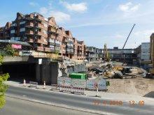 Aktuelles Stand Baustelle Porz
